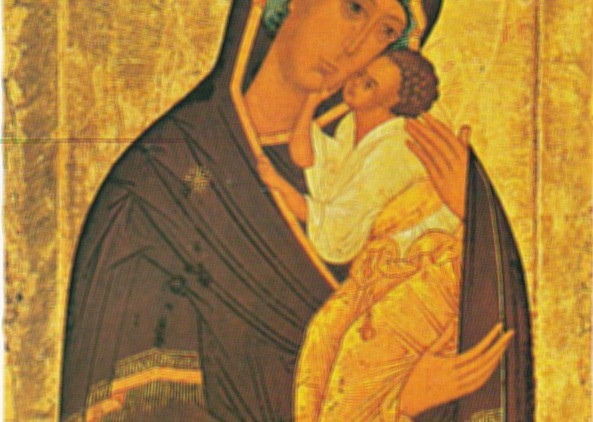 Vierge de Caresse