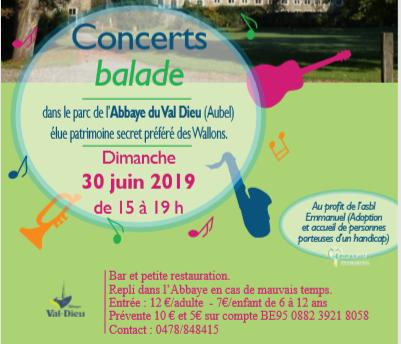 Concert du 30 juin 2019
